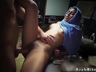 Arab show ass Sneaking in the Base!