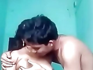 Indian Desi Aunty Arpita with Teen